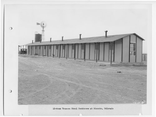 Atchison, Topeka and Santa Fe Railway Company bunkhouse, Bisonte, Colorado - Page