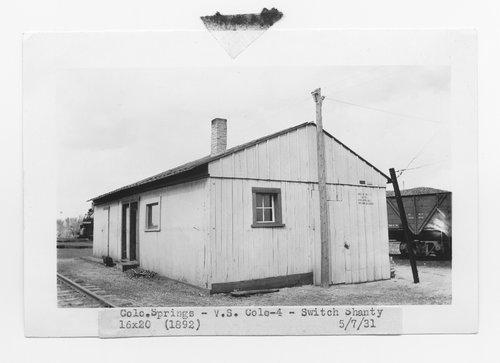 Atchison, Topeka & Santa Fe Railway Company switch shanty, Colorado Springs, Colorado - Page