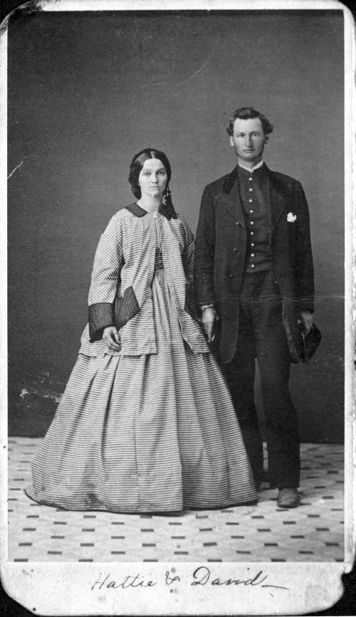 David B. and Hattie Long - Page