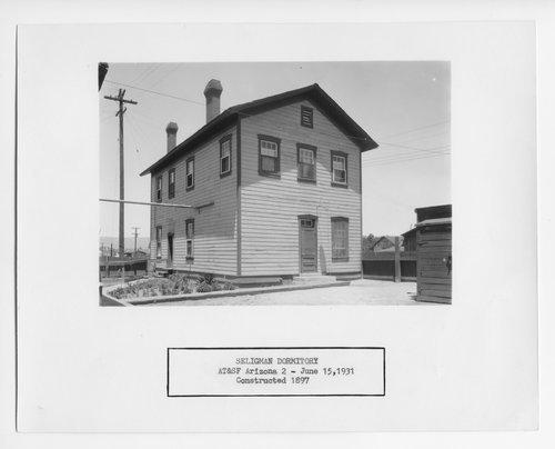 Atchison, Topeka & Santa Fe Railway Company dormitory, Seligman, Arizona - Page
