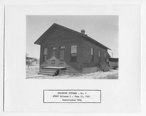 Atchison, Topeka & Santa Fe Railway Company cottage, Seligman, Arizona - Page