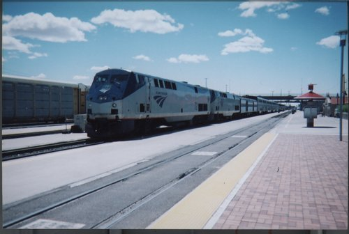 Amtrak Southwest Chief passenger train, Albuquerque, New Mexico - Page