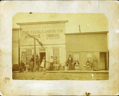 Frederick C. Zimmerman's hardware store, Dodge City, Kansas - Page