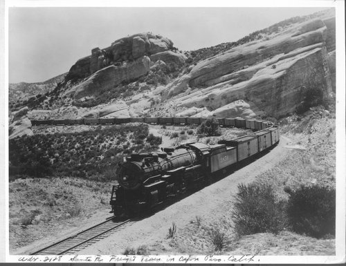 Atchison Topeka & Santa Fe Railway Company's Green Fruit Express (GFX) - Page