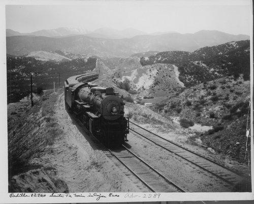 Atchison Topeka & Santa Fe Railway Company's California limited No 4 - Page