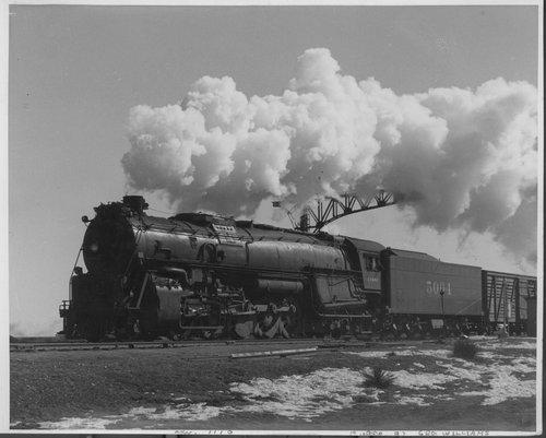 Atchison, Topeka & Santa Fe Railway Company's steam locomotive # 5004 - Page