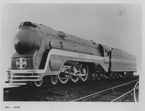 ATSF 3460, Blue Goose steam engine - Page