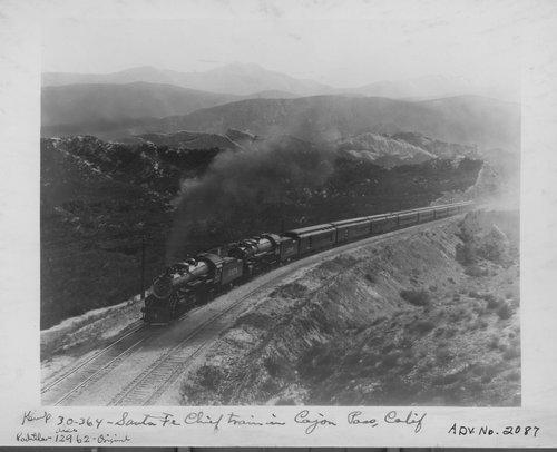Atchison, Topeka & Santa Fe Railway Company Chief, Cajon Pass, Alray, California - Page