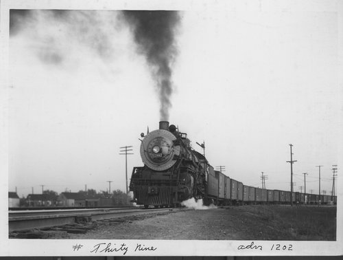 Atchison Topeka & Santa Fe Railway Company freight train No 39 - Page