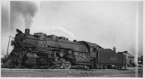 Atchison, Topeka & Santa Fe Railway Compay's steam engine 4115 - Page