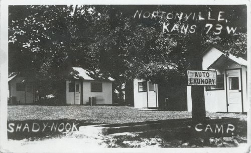 Shady Nook Cabin camp, Nortonville, Kansas - Page