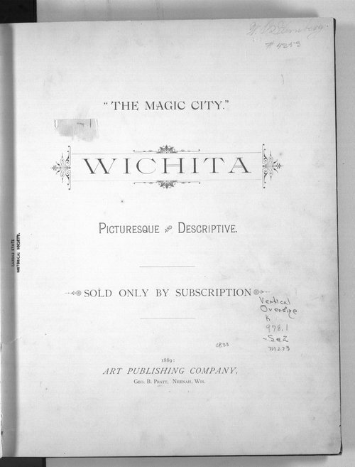 The magic city.  Wichita picturesque and descriptive - Page