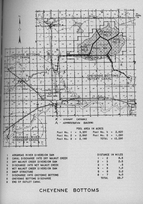 Map of Cheyenne Bottoms - Page