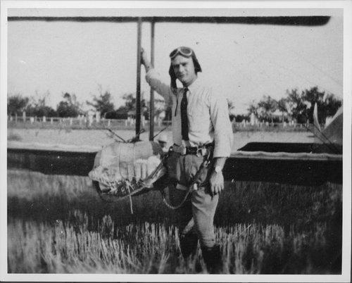 Karl Garver, Garver Flying Circus - Page