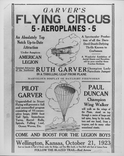 Garver's Flying Circus - Page