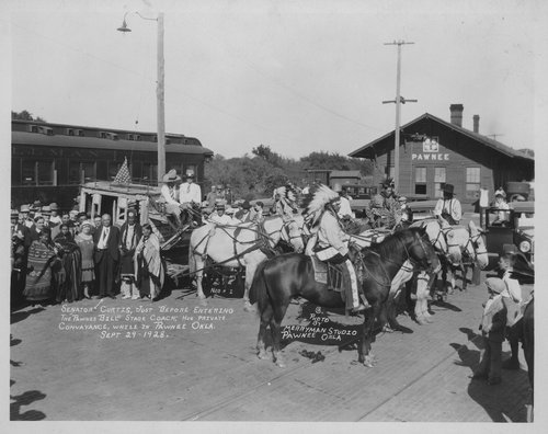 Charles Curtis, Pawnee, Oklahoma - Page
