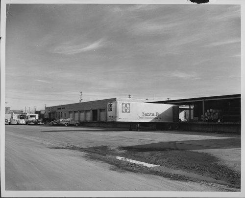 Atchison, Topeka & Santa Fe Railway Company freight house, Pueblo, Colorado - Page