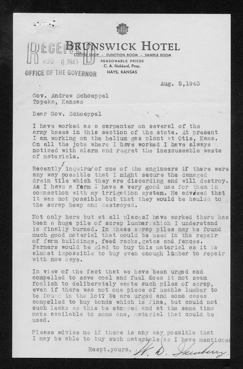 Ikenberry and Schoeppel correspondence - Page
