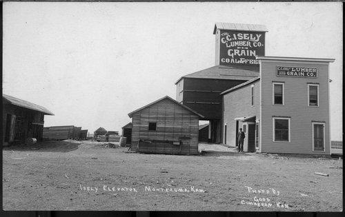 C. C. Isely Lumber and Grain Company, Montezuma, Kansas - Page