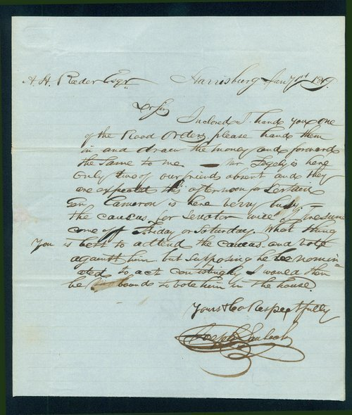 Joseph Laubach to Andrew Horatio Reeder - Page