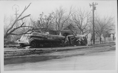 Semi-trailer and truck accident, Cimarron, Kansas - Page