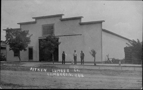 Aitken Lumber Co., Cimarron, Kansas - Page