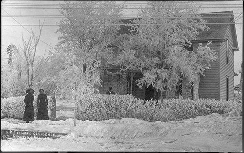 J. R. Fisher's residence, Cimarron, Kansas - Page