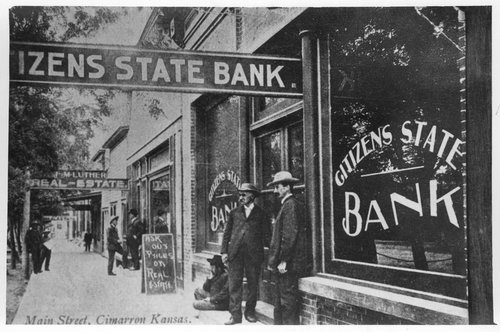 Main Street, Cimarron, Kansas - Page