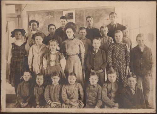 Delia school, Ingalls, Kansas - Page