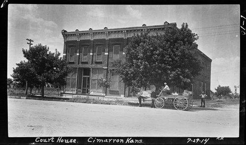 Building at 117 S. Main in Cimarron, Kansas - Page
