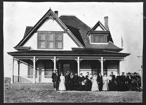 L. O. Sutton home, Cave, Kansas - Page