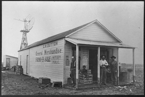 C. W. Sutton general store, Ensign, Kansas - Page