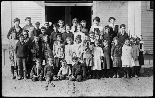 Ensign Grade School, Ensign, Kansas - Page
