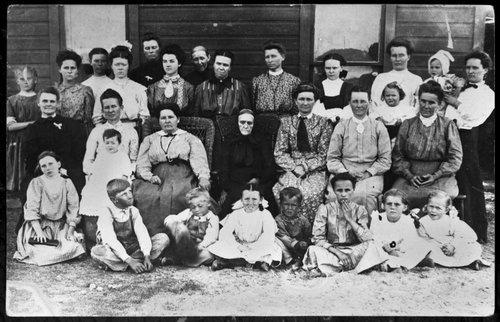 Ladies Aid members, Cave, Kansas - Page
