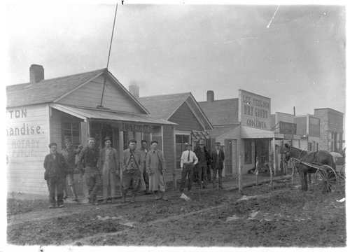 First store buildings, Ensign, Kansas - Page