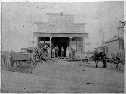 Tommy Morris store, Ingalls, Kansas - Page