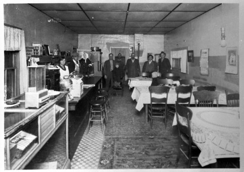 Pegram Lunch Room, Ensign, Kansas - Page