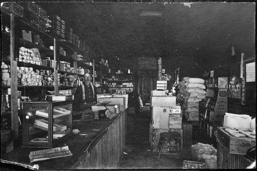 Caleb Sutton store, Cave, Kansas - Page