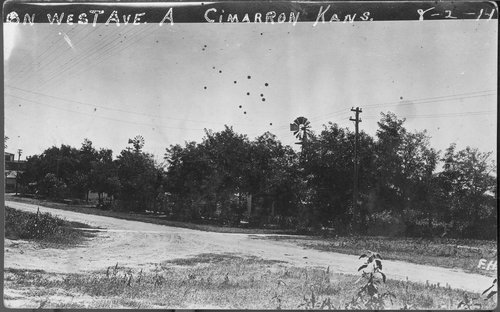 West Avenue A, Cimarron, Kansas - Page