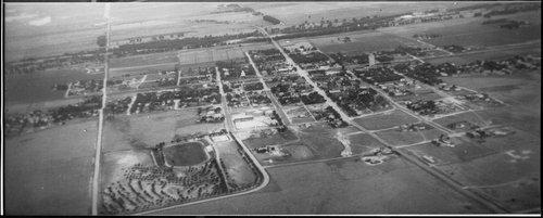 Aerial view, Cimarron, Kansas - Page