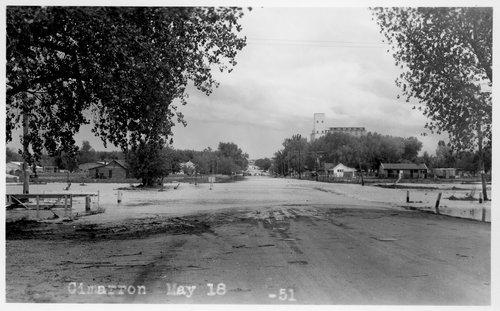 Flooding, Cimarron, Kansas - Page