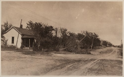 Tornado damage, Cimarron, Kansas - Page
