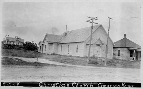 Christian Church, Cimarron, Kansas - Page