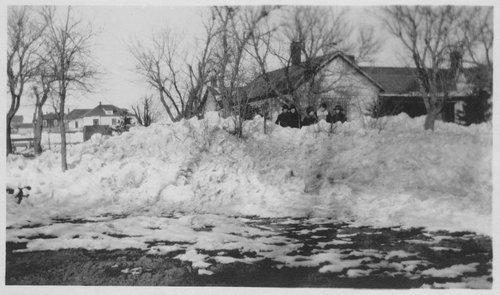 Snow, Cimarron, Kansas - Page