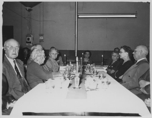 Church dinner, Cimarron, Kansas - Page