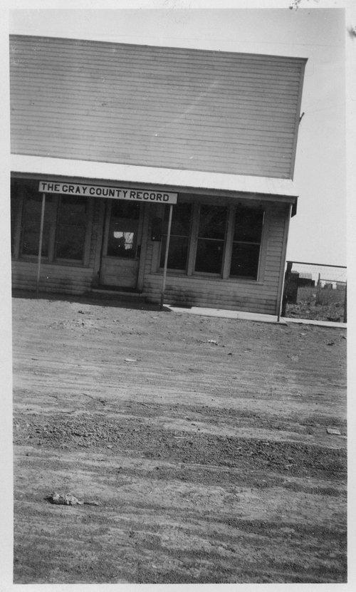 Gray County Record, Ensign, Kansas - Page