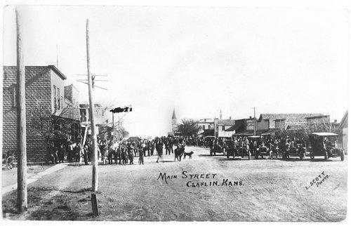 Main Street, Claflin, Kansas - Page