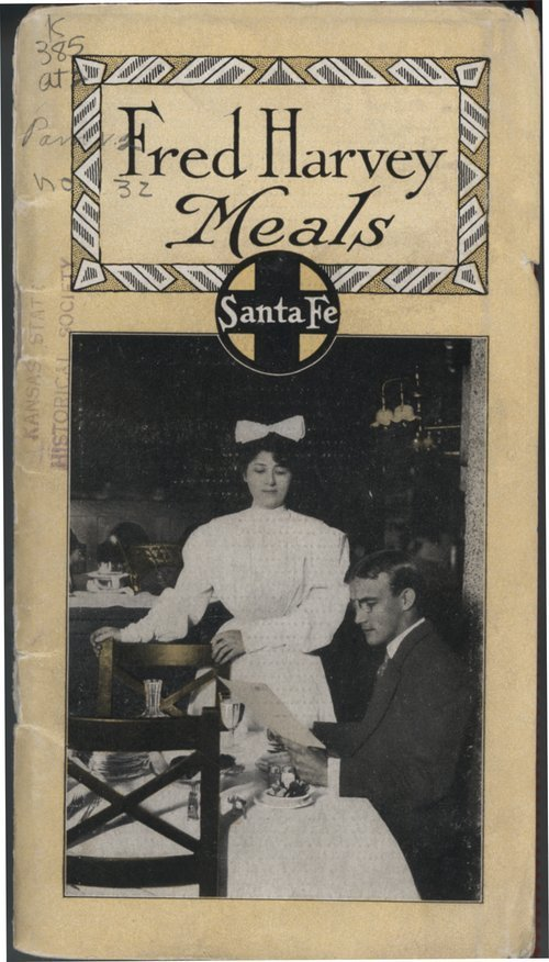 Fred Harvey meals, Santa Fe Railway - Page