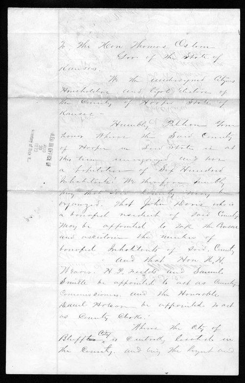 Harper County organization records - Page