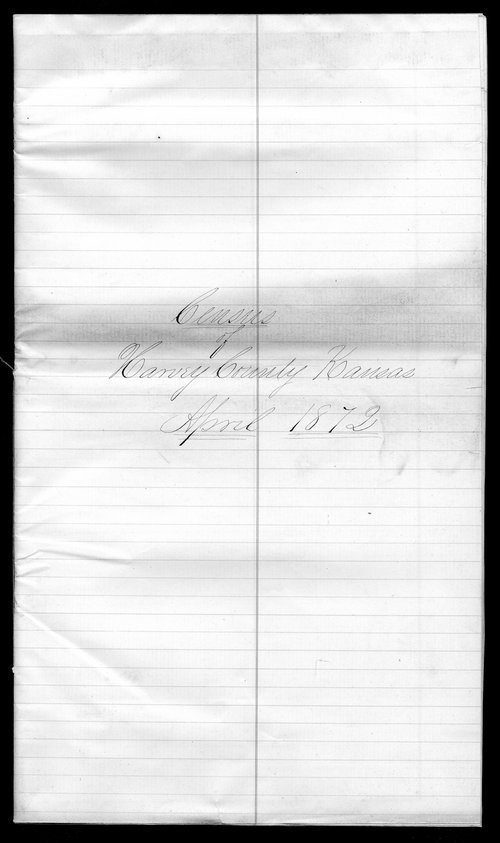 Harvey County organization records - Page